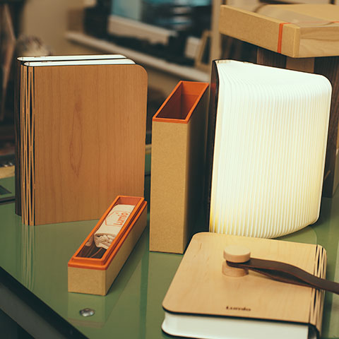 Lumio Is A Dynamic, Multi  Functional Lamp That Conceals Itself In The Form  Of A Hard Cover Book. Lumio Opens To 360 Degrees And Comes With